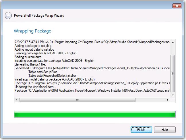 Wrapping a Windows Installer ( msi) or Installer Executable ( exe)