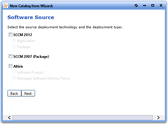 create application package sccm 2012