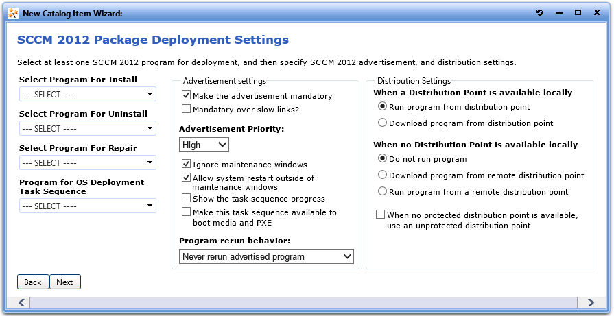 Sccm 2012 Make Advertisement Mandatory