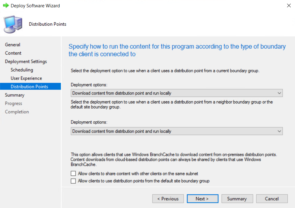 Run Scan from System Center Configuration Manager (SCCM)